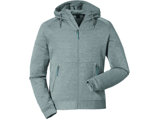 Schöffel Setagaya Fleece Hoody Men sharkskin